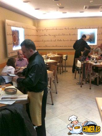 camareros en madrid
