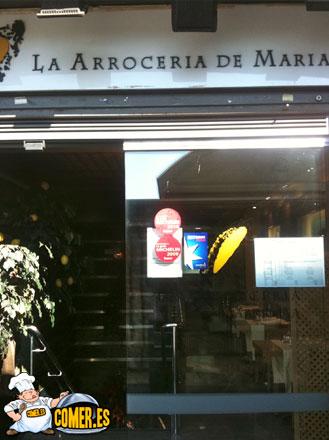 la arroceria de maria madrid