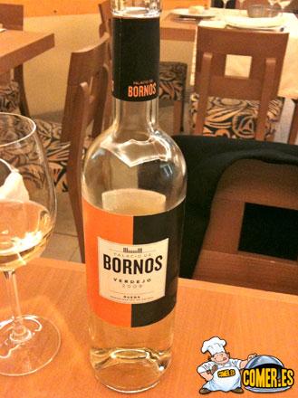 vino blanco de rueda palacio bornos