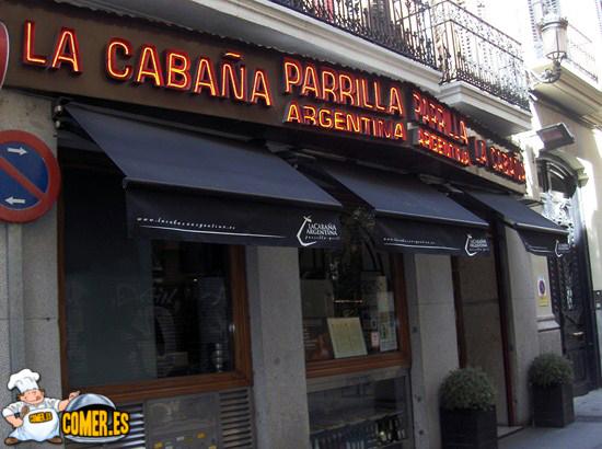 Comer en madrid en la calle sabor restaurantes en madrid - Parrillas argentinas en madrid ...